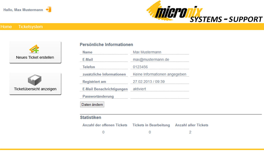 Micronix_Systems_IT_Support_Ticket_System_Bild1
